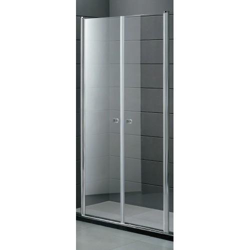 Душові двері PARADISO 900х1850 P2156SG (коричнева) AK