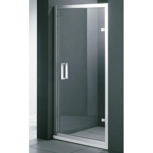 Душові двері ліві FONTE 900х1850 M151 OG коричневі