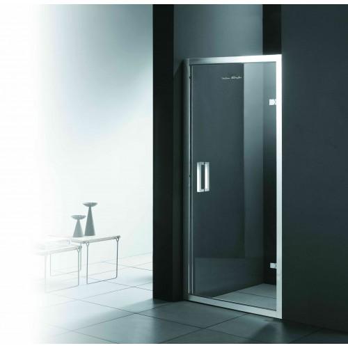 Душові двері ліві FONTE 1000х1850 M151 OF (ice engraving) AK ліві