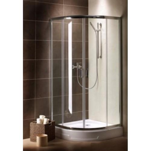 Radaway Premium Plus A90 (90x90x190) коричнева / хром (30403-01-08N)
