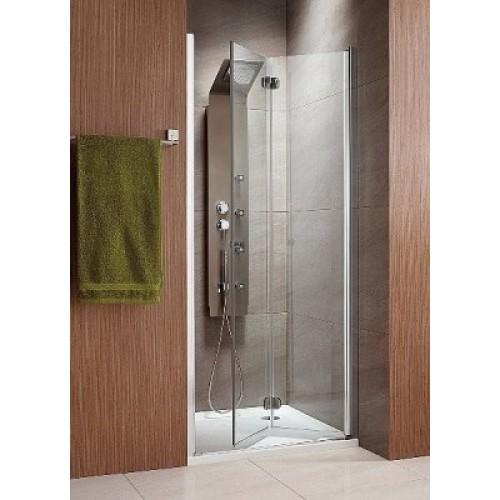 Складна двері в нішу Radaway Eos DWB 90R (890-910x1970) права, інтімато / хром (37803-01-12NR)