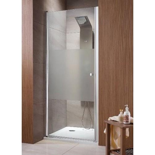 Орні двері в нішу Radaway Eos DWJ 80 (790-810x1970) прозора / хром (37913-01-01N)