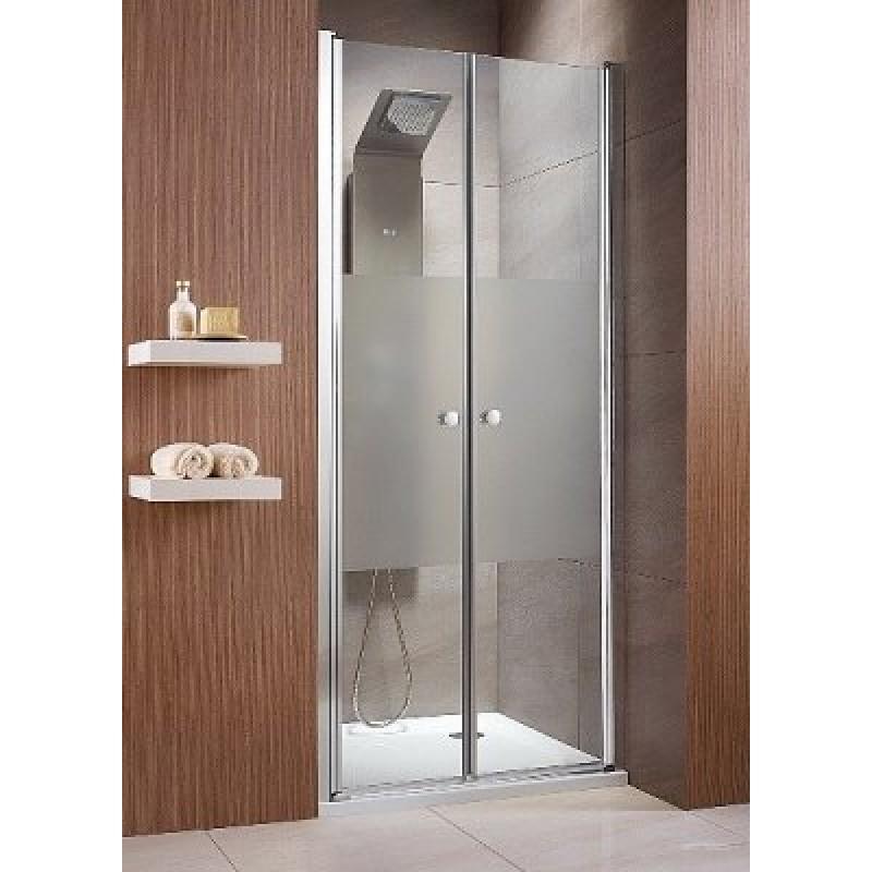 Распашная дверь в нишу Radaway Eos DWD 90 (890-910x1970) прозрачная/хром (37703-01-01N)