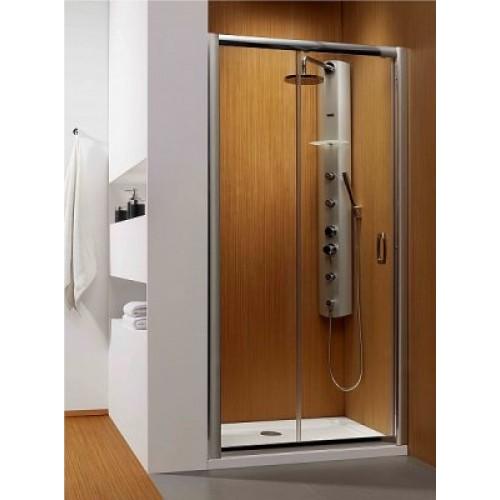 Дверь в нишу Radaway Premium Plus DWJ 110 (1072-1115x1900) прозрачная/хром (33302-01-01N)