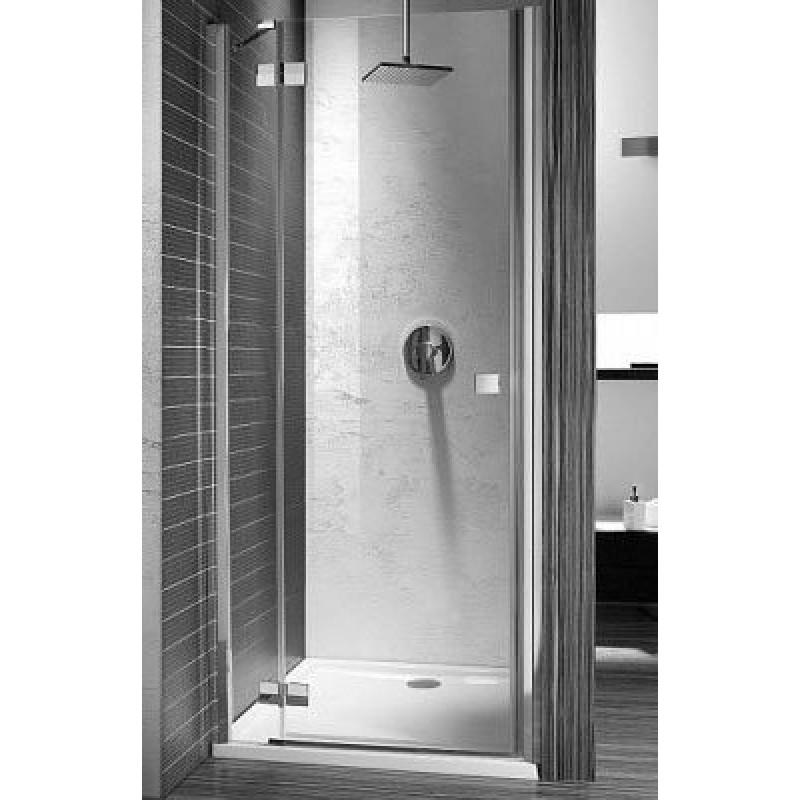 Дверь в нишу Radaway Almatea DWJ 80L (790-810х1950) левая, графит/золото (30802-09-05N)