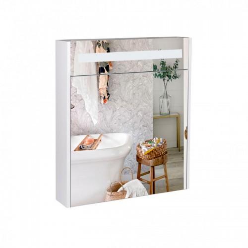 Зеркальный шкаф подвесной Qtap Robin с подсветкой QT1377ZP6001W
